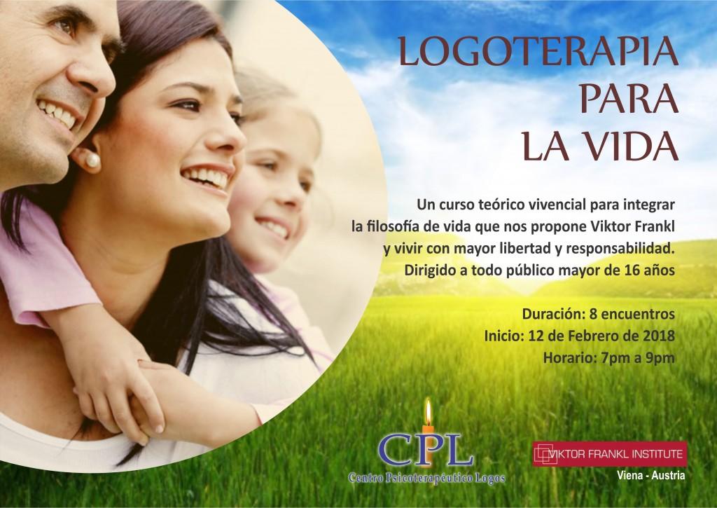 AFICHE logoterapia para la vida